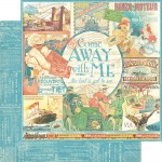 Come Away With Me Collection - Come Away With Me 12x12 Paper